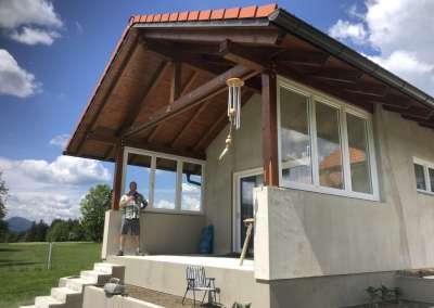 Terrassen-Windschutz – Turnau